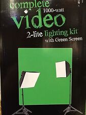 Westcott Illusions uLite Green Screen Video Lighting Kit NEW With Software.