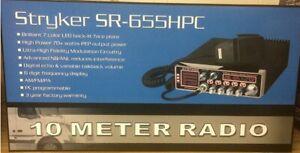 Stryker SR-655HPC (SR655HPC) 10 Meter Amateur Radio AM/FM Brand New Low $$