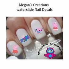 Peppa Pig Cartoon Nail art Decals