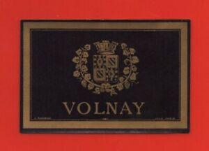 Etikett De Vin - Wine Label - Volnay