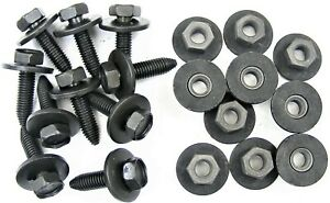 Honda Body Bolts & Flange Nuts- M8-1.25 x 30mm Long- 13mm Hex- 20pcs (10ea) #401