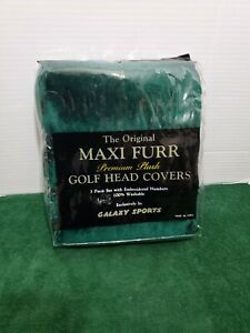 Golf Head Covers Maxi Furr 3 Piece Set Premium Plush