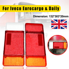 PAIR FOR IVECO EUROCARGO DAILY TALBOT EXPRESS REAR TAIL LIGHT LAMP LENS N/S