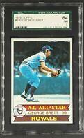 1979 Topps #330 George Brett HOF Kansas City Royals SGC 84 NM 7 PSA ?