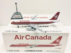 Inflight 200 Air Canada Airbus A320-211 1:200 C-FDQQ with stand