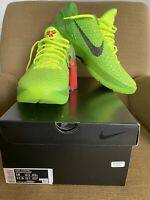 Nike Zoom Kobe 6 Protro Grinch Size 16 Grinches New In Box