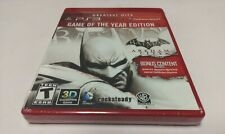 Batman: Arkham City - Game of the Year Edition (Sony PlayStation 3) PS3 NEW