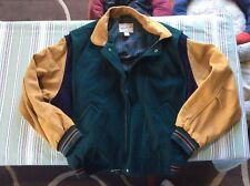 Mens XL WOOLRICH Wool and Lamb Skin Jacket-Very Good Condition
