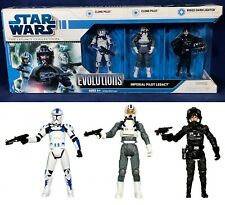 New IMPERIAL PILOT LEGACY Figure Collection STAR WARS EVOLUTIONS Biggs - 87650