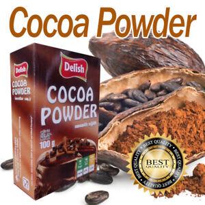 Cocoa Powder 100% Natural Premium Quality Product 100g