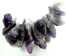 11pcs Natural Rough Specimen Amethyst Point Quartz Crystal