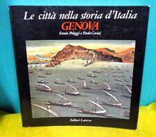 Poleggi Cevini GENOVA Le città nella storia d'Italia - Ed. Laterza 1981 I° ed.