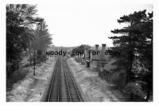 bb0537 - Branston & Heighington Railway Station Lincolnshire in 1962 photograph