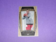 2015 Goodwin Champions TEDDY BRIDGEWATER #94 Lady Luck Cloth Mini/50 VIKINGS QB