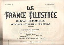 La France Illustrée Journal semanal 30e año Nº 1503 REF E5