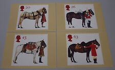 1997 50th Anniv British Horse Society, Queens Horses PHQ 189 - Mint PHQ Cards