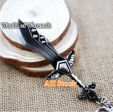 World of Warcraft Cataclysm Game Keyring Accessories Character Weapon Figures 12