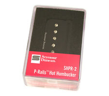 Seymour Duncan SHPR-2b Hot P-Rails Black Humbucker Bridge Pickup 11303-04-B