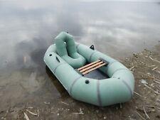 Inflatable rubber boat original Lisichanka 210 Quality Fishing Kayak 1 person