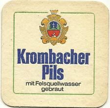 BIERDECKEL - KROMBACHER PILS - WERBUNG