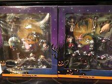 Jun Planning Nightmare Before Christmas Mini Figure Set 1 &2 Vintage 1990's