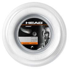 HEAD HAWK 16g REEL WHITE - tennis string racquet racket poly - Auth Dealer