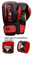 BOXING GLOVES PUNCHING BAG SPARRING GLOVES MUAY THAI KICK BOXING MMA JFO US