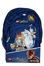 LEGENDS OF CHIMA BACKPACK back pack Chi lego legos NEW bookbag
