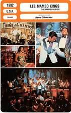 FICHE CINEMA : LES MAMBO KINGS - Assante,Banderas,Moriarty,Glimcher 1992