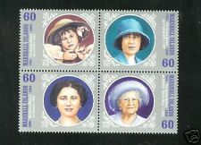 Marshall Islands 750. Queen Mother MNH-VF Se-tenant