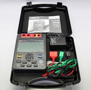 UNI-T UT513 USB Digital Insulation Resistance Tester Meter Megger 5000V /AC 220V