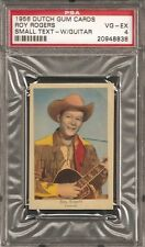 ~ 1956 Dutch Gum ~ ROY ROGERS ~ PSA 4 ~ Vintage Cowboy !!