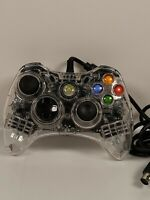 Afterglow Microsoft XBOX 360 Wired Controller Model PL-3702 PDP Clear