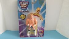 1997 JUST TOYS WWF STONE COLD STEVE AUSTIN SERIES 5 BEND-EMS WRESTLING FIGURE