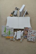 Nintendo Wii Console & Wii Fit Board ***Mega Bundle***Over 70 Games Included***