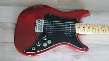 1981 Fender LEAD III See thru red ash Maple neck 2 Humbuckers OHSC USA '81 EXC !