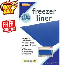 Freezer Liner Drawer Prevent Bacteria Mat Anti Frost Ice Build Up Blockage