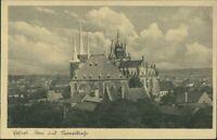 Ansichtskarte Erfurt Erfurter Dom und St. Severikirche 1929