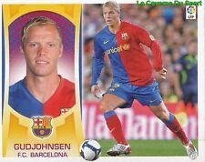 13A EIDUR GUDJOHNSEN ICELAND FC.BARCELONA STICKER ESTE LIGA 2010 PANINI