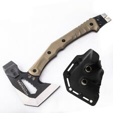 Tomahawk Tactical Engineer  Axe  Hammer survival Outdoor camping Hand Tool Sheat