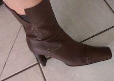 Vero Cuoio - Moda SCALA- Stiefel - Größe 38 - Nugat Braun -Echt Leder