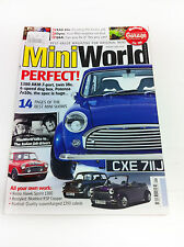 Mini World Magazine August 2010 - Mini Minor Cooper Rover Rally