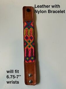 Mexican Braided Nylon Friendship Bracelets (see available options) NEW