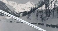 Mallnitz in Kärnten - Skimeisterschaft - um 1935 oder früher - Sprungschanze