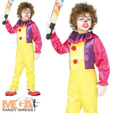 CIRCO TESORO RAGAZZI Adolescenti Halloween Clown Costume