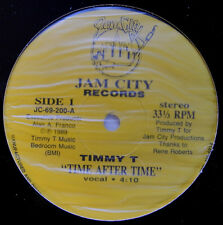 "12"" US**TIMMY T - TIME AFTER TIME (JAM CITY RECORDS '89)***21352"