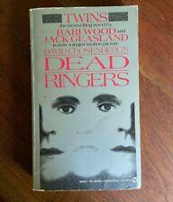 Deadringers Jack Geasland & Bari Wood 1988 Mass Market Movie Tie-In Orig: Twins