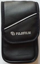 Fujifilm Faux Leather Digital Camera Case W/Microfiber (Black) - 01201820