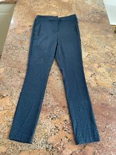 Size 6 Black And Green Next Trousers Pants Smart Fitted Suit Pants