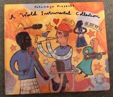 CD Music Digipak Putumayo World Instrumental Collection 11 Tracks